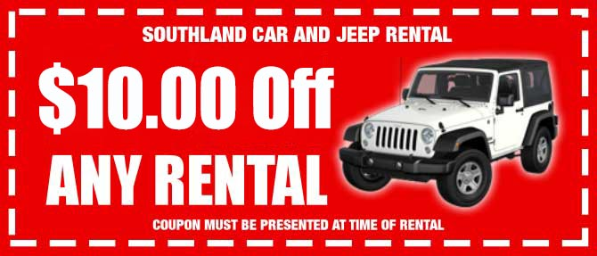 Jeep Rental Discount